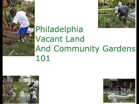 Philadelphia Vacant Land 101