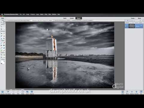 Creating a frame Template in Elements and Photoshop