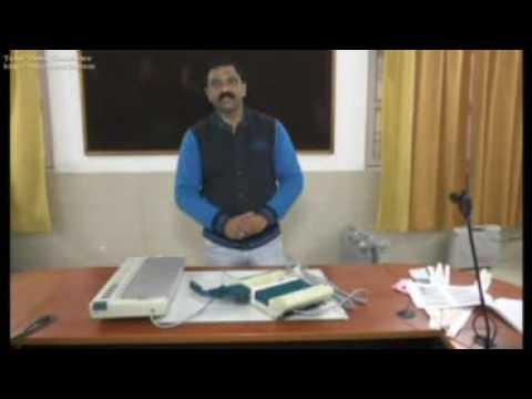 Electronic Voting Machine (EVM) in Hindi