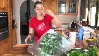 Storage of green leafy vegetables