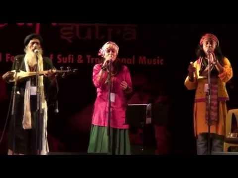 Ekhono sei Brindabone performance at Sufi sutra 2015, Goa by East West Local (Bengal Goa)