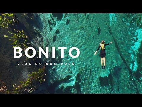 FLUTUAÇÃO incrível em BONITO MS - Vlog do Num Pulo Ep01