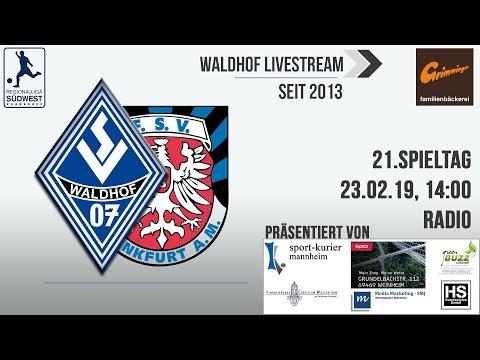 21.Spieltag: SV Waldhof 07 - FSV Frankfurt (Radio)