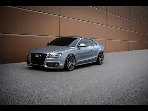 Audi A5 Custom Wheels - YouTube