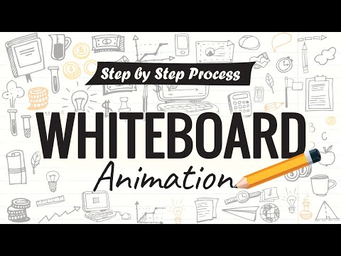 How To Create A Whiteboard Animation Video - Step By Step Process