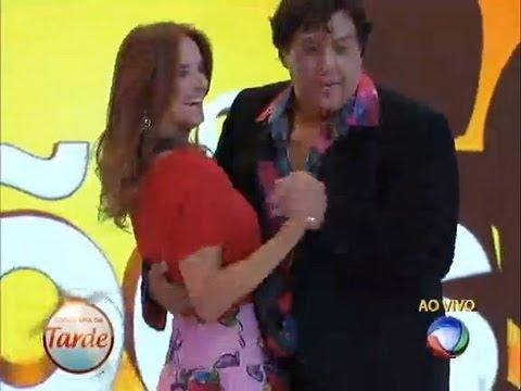 Sidney Magal Dança Lambada Com Ticiane Pinheiro