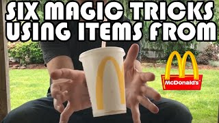 6 Easy McDonald's Magic Tricks