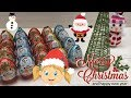 Surprise eggs Kinder Surprise Christmas Edition Opening