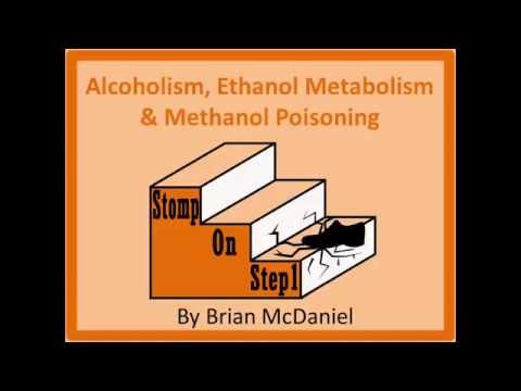 Alcohol Metabolism, Methanol Poisoning, Fatty Change Alcoholic Hypoglycemia Fomepazole
