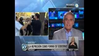 Visión 7: CABA: La represión como forma de gobierno