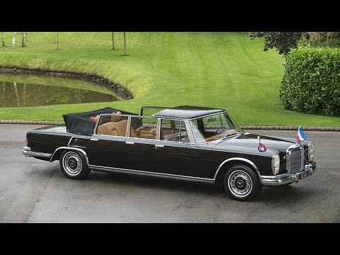 for sale mercedes benz 600 pullman landaulet w100 3 million euros youtube. Black Bedroom Furniture Sets. Home Design Ideas