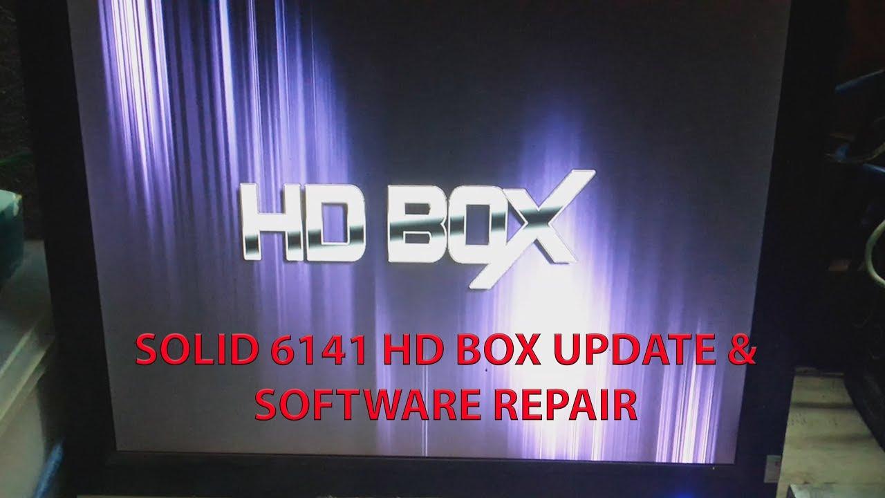 SOLID 6141 HD BOX UPDATE SOFTWARE REPAIR 24