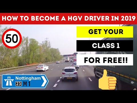 How To Become A HGV Driver & Get A FREE Class 1
