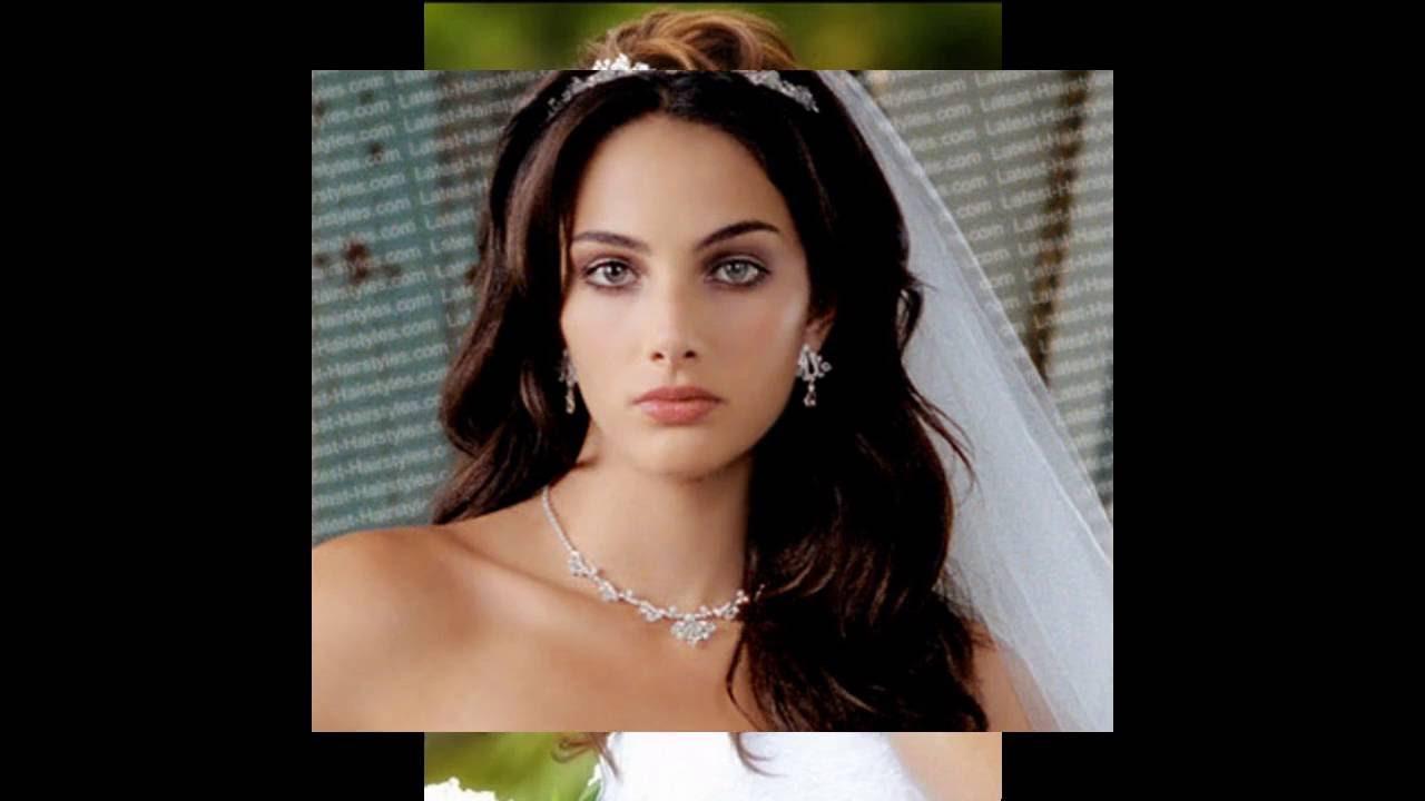 abajo peinados de novia con velo below wedding hairstyles with veil - Peinados De Novia Con Velo