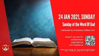 Catholic Sunday Mass Today Live Online - Sunday, Word Of God…