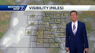 Fog, some slick spots early Tuesday, snow likely late this week
