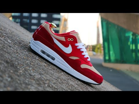 red nike thea unboxing