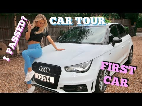BUYING MY FIRST CAR / CAR TOUR | I PASSED MY TEST??