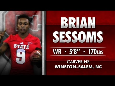 #Pack15 - Brian Sessoms - WR - Carver HS (NC)