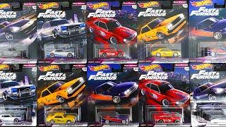 ホットウィール ワイルドスピード FAST REWIND マツダ RX-3、日産 スカイライン、フェアレディ Z、シルビア ワイスピ