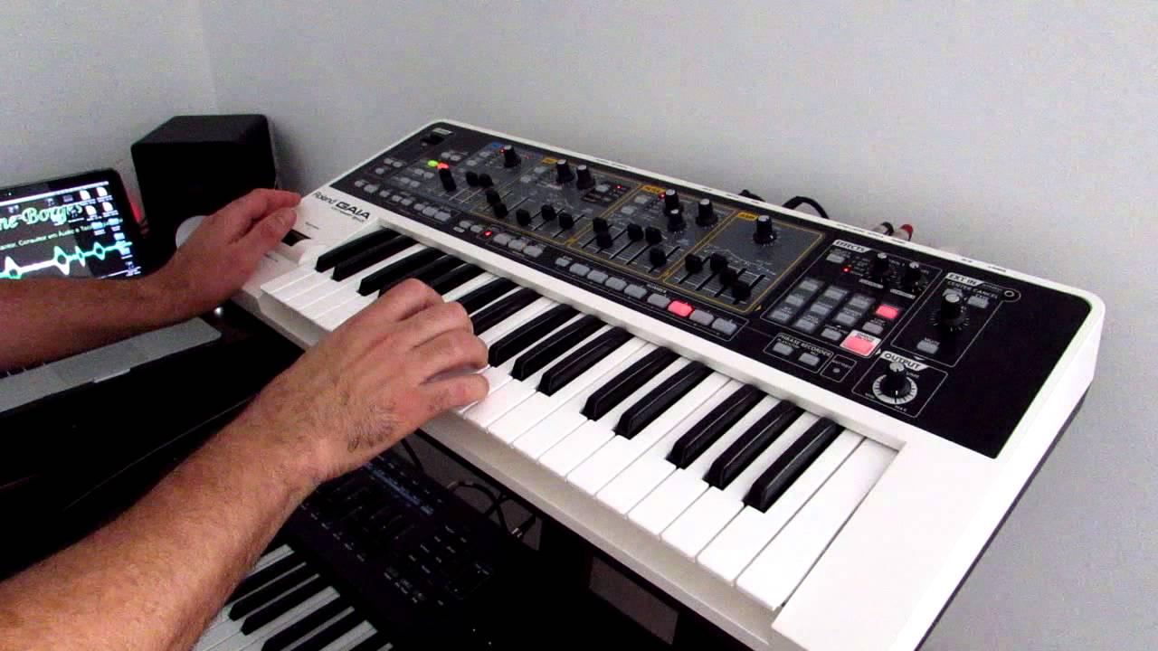 Roland Gaia Sh 01 Sound Pcm Youtube