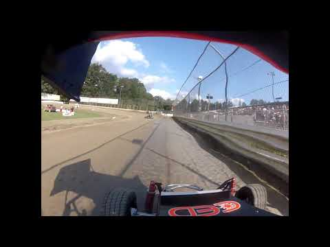 Deming Speedway Clay Cup 7/19/19 Jr Sprint Qualifying Ty GoPro