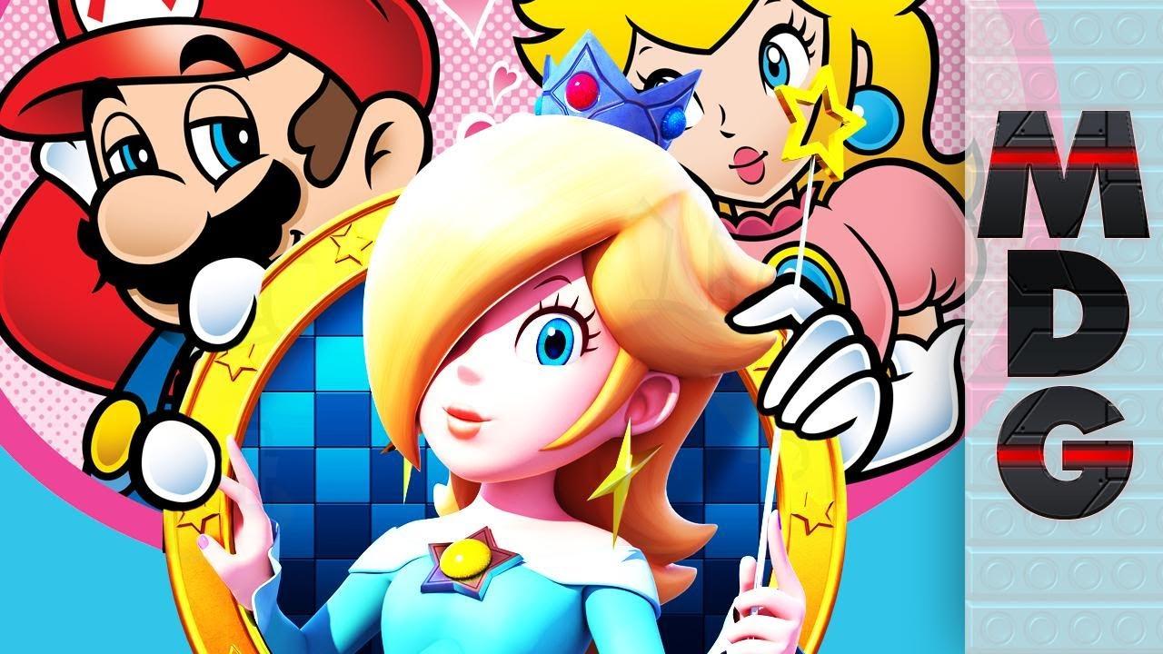Theorie Mario Peach Ont Une Fille Harmonie