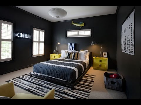 Modern And Stylish Teen Boys Bedroom Design Ideas