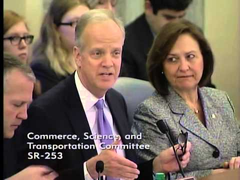Sen. Moran Discusses Aviation at Senate Commerce Committee Hearing