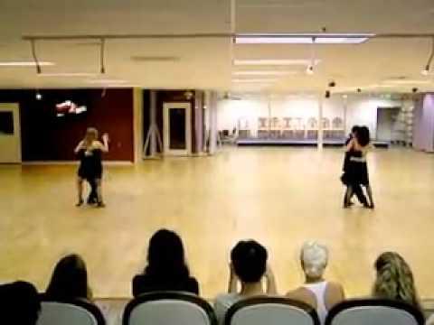 Khiêu vũ quốc tế   Tango Argentine  Martin, Tatiana, Marcelo & Terri,