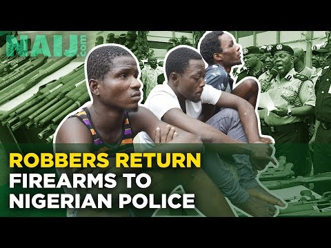 Robbers Return Firearms to Nigerian Police (Crime News in Nigeria) | Legit TV
