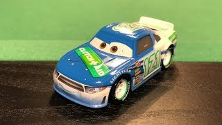 Mattel Disney Cars 3 2018 Dino Draftsky #121 Clutch Aid Stock Car Die-cast Review