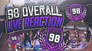 Video 98 OVERALL LIVE REACTION! WHAT DID I GET? MASCOTS? JETPACK? NOTHING? NBA 2K18 PLAYGROUND! NBA 2KTV! download MP3, 3GP, MP4, WEBM, AVI, FLV Juli 2018