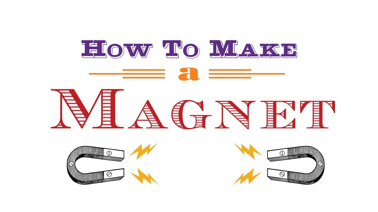 How to Make a Peel & Stick Magnet Button or Fridge Magnet using a ...