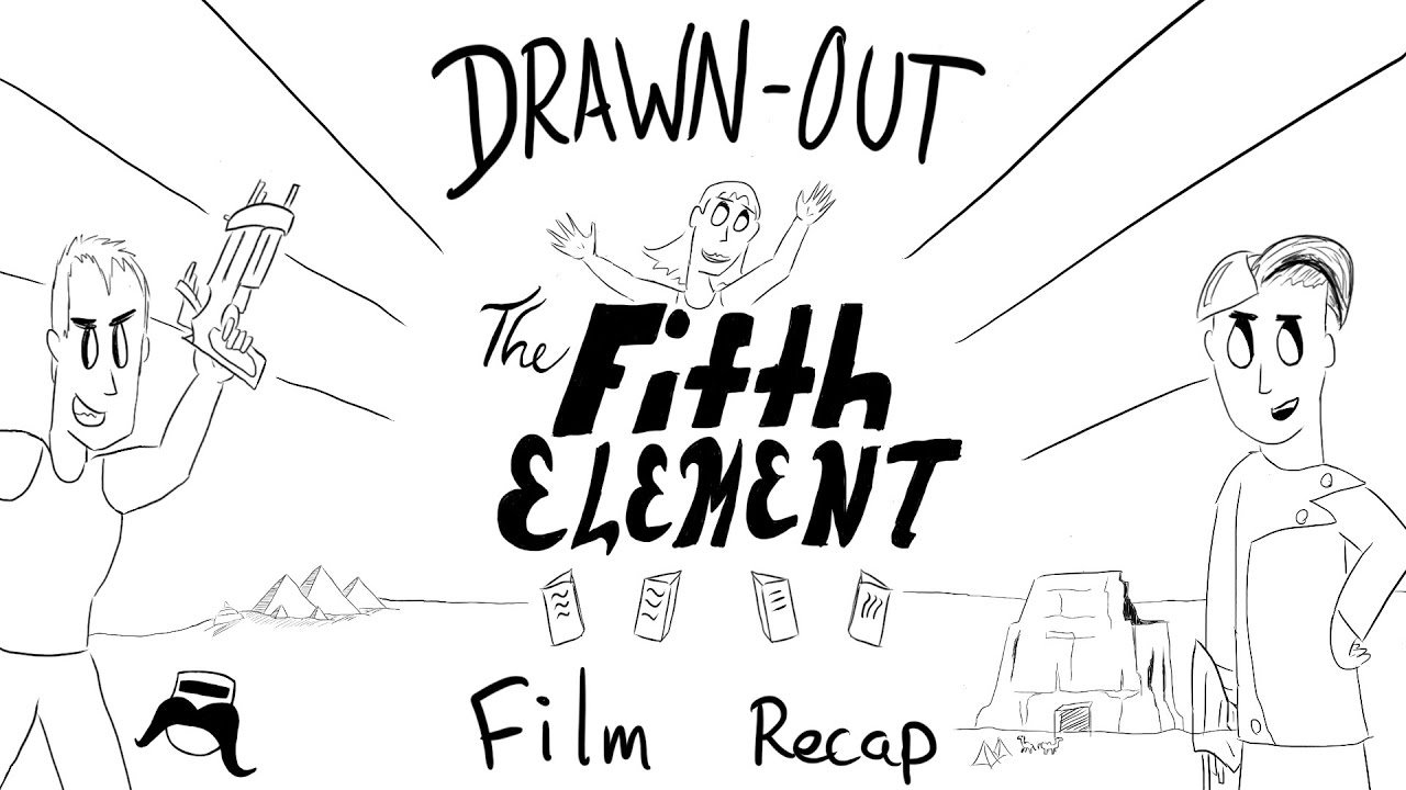 The Fifth Element Drawn Out Film Recap Youtube