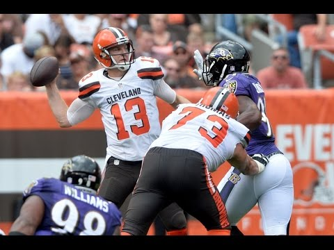 Josh McCown Every Play vs Ravens (NFL Week 2 - 2016) - 260 Yards + 2 TDs, 2 INTs! | NFL Highlights