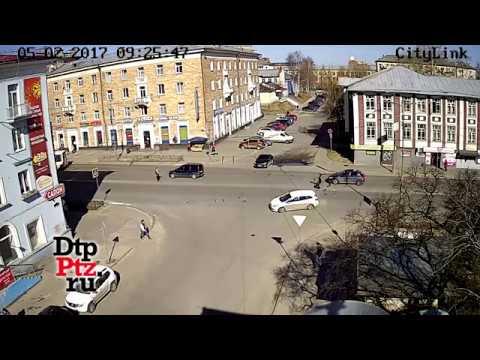 ДТП с мотоциклом на Ленина-Герцена