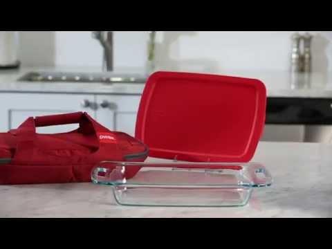 Genial Pyrex   Portables 3 Qt Oblong Baking Dish Red