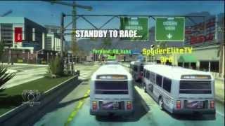 Burnout Paradise: Drivable Traffic Mod (PS3)