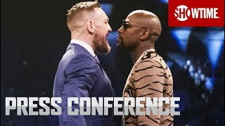 Download Floyd Mayweather vs. Conor McGregor: London Press Conference | SHOWTIME Mp3 and Videos