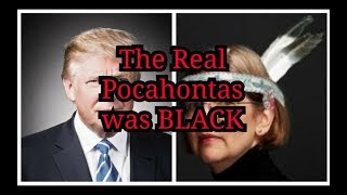 the real pocahontas was black