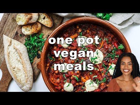 EASY ONE POT MEALS | vegan