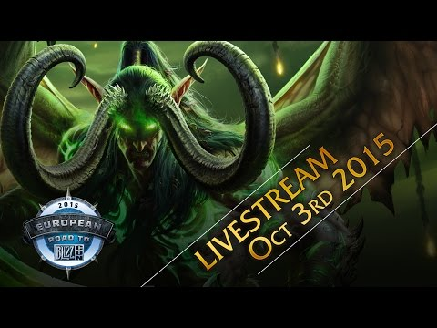 World of Warcraft European Championship 2015 – Group Stage & Semi Final