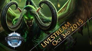 World of Warcraft European Championship 2015 – Group Stage & Semi Final