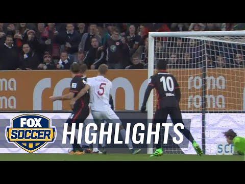FC Augsburg vs. Eintracht Frankfurt | 2015–16 Bundesliga Highlights