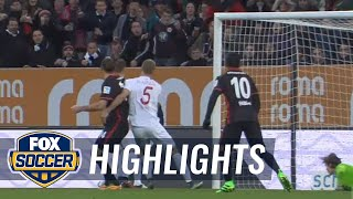 FC Augsburg vs. Eintracht Frankfurt | 2015–16 Bundesliga Highlights