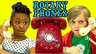 KIDS REACT TO ROTARY PHONES(Rotary Phones Bonus Reactions: http://goo.gl/vwEOtd NEW Vids Sun, Tues & Thurs! Subscribe: http://goo.gl/nxzGJv Watch all main React episodes ..., 2014-03-02T20:02:59.000Z)