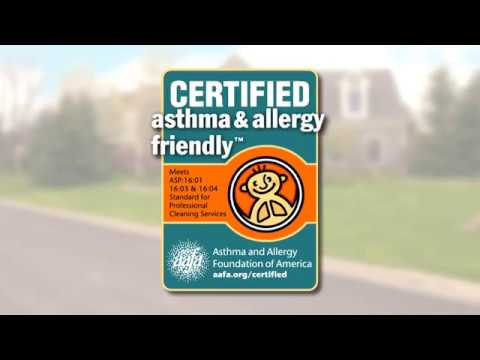 asthma & allergy friendly - Cleaning Services by Stanley Steemer