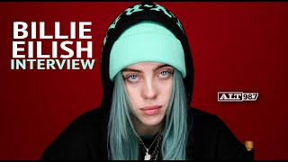 Billie Eilish On Making Alternative Trap Music And More