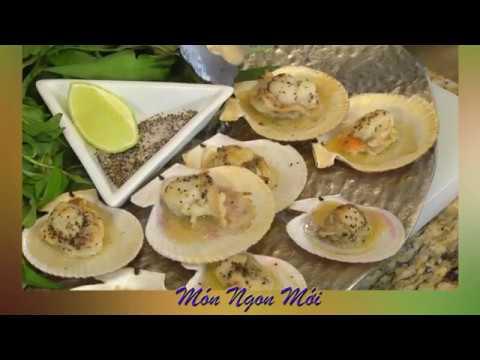 Uyen Thy's Cooking - Sò Điệp Nướng Mỡ Hành